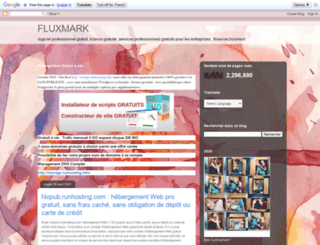 fluxmark.blogspot.fr screenshot