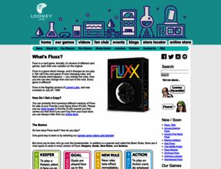 fluxxgames.com screenshot