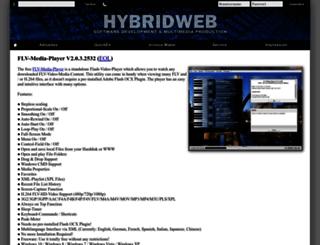 flv-media-player.com screenshot