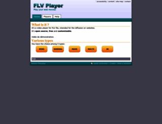 flv-player.net screenshot