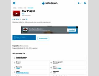 flv-player.uptodown.com screenshot