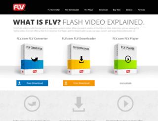 flv.com screenshot