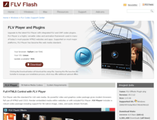 flvplayer.net screenshot