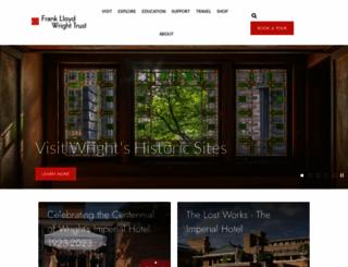 flwright.org screenshot