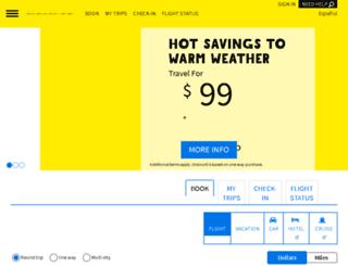 fly.spiritairlines.com screenshot