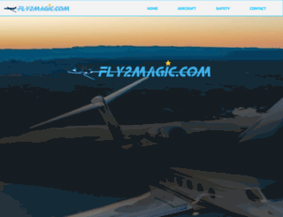 fly2magic.com screenshot