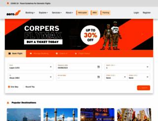 flyaero.com screenshot