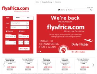 flyafrica.com screenshot