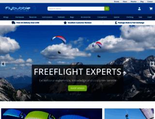 flybubble.co.uk screenshot
