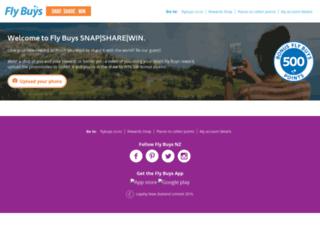 flybuys.shuttlerock.com screenshot