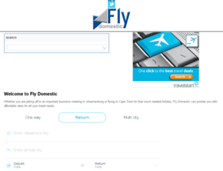 flydomestic.co.za screenshot