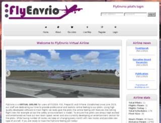 flyenvrio.com screenshot
