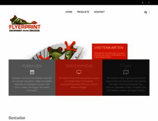 flyerprint.de screenshot