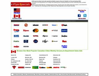 flyerspecials.com screenshot