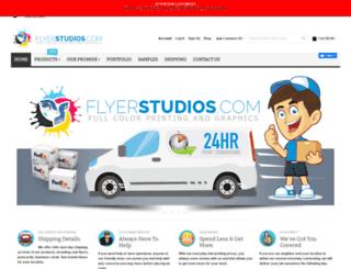 flyerstudios.com screenshot