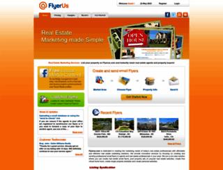 flyerus.com screenshot