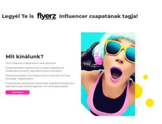 flyerz.hu screenshot
