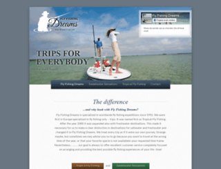 flyfishingdreams.com screenshot