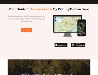 flyfishingreporter.com screenshot