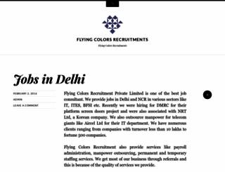 flyingcolorsrecruitments.wordpress.com screenshot