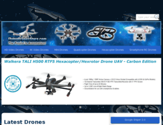 flyingdronesstore.com screenshot