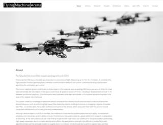 flyingmachinearena.org screenshot