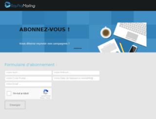 flyingslice.fr screenshot