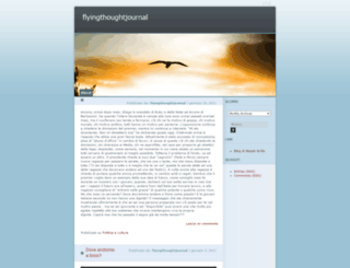 flyingthoughtjournal.wordpress.com screenshot