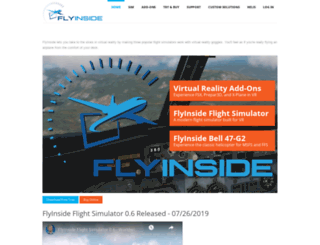 flyinside-fsx.com screenshot