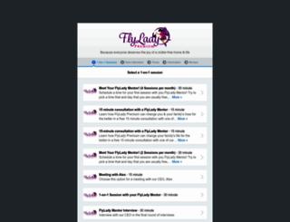 flylady-premium.appointlet.com screenshot