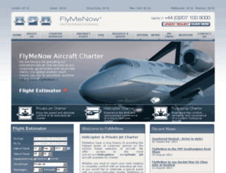 flymenow.co.uk screenshot