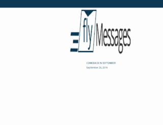 flymessages.com screenshot