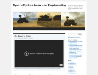 flyonde.wordpress.com screenshot