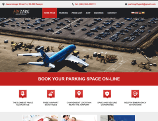 flypark.com.pl screenshot