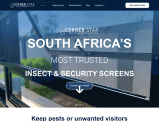 flyscreen.co.za screenshot