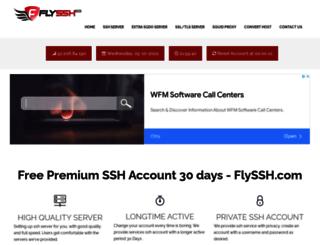 flyssh.com screenshot