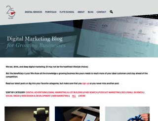flyteblog.com screenshot