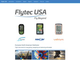 flytec.com screenshot