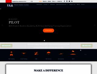 flytechaviation.com screenshot