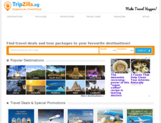 flyzilla.com screenshot