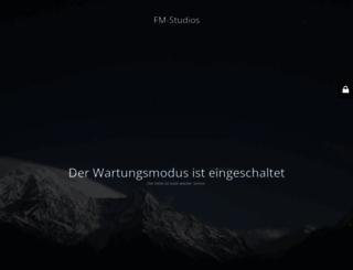 fm-studios.de screenshot