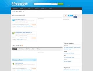 fm.afreecodec.com screenshot