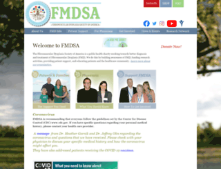 fmdsa.org screenshot