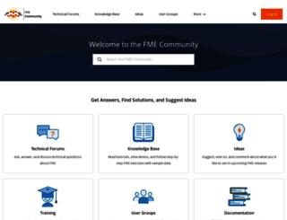 fmepedia.safe.com screenshot