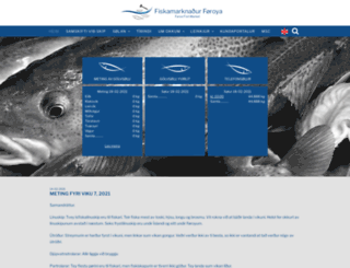 fmf.fo screenshot