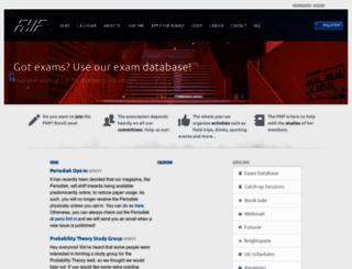 fmf.nl screenshot