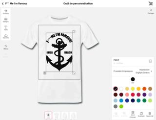 fmif.spreadshirt.net screenshot