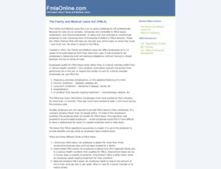 fmlaonline.com screenshot