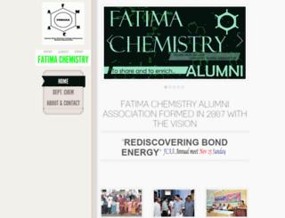 fmncchemalumni.in screenshot