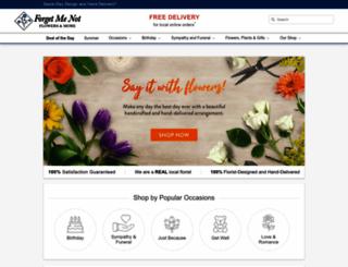fmnflowers.ca screenshot